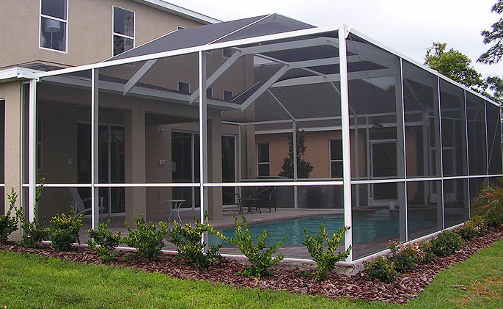 Aluminum Screen Enclosures : Aluminum screen how to install enclosure